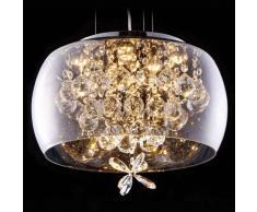 Lámpara de Techo LED con cristales - Victoria