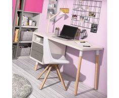 DESKandSIT Mesa mesas de estudio de diseño con buc mju2023002