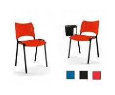 KESTA Entrega inmediata sillas con pala de escritura polivalente sop72003