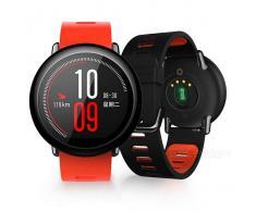 Xiaomi AMAZFIT HUAMI Deportes Smart Digital + Reloj Analogico - Rojo + Negro