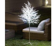 CHRISTMAS PLANET ÁRBOL NEVADO DECORATIVO (120 LED)