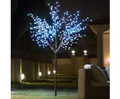CHRISTMAS PLANET ÁRBOL DECORATIVO CON FLORES (350 LED)
