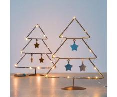 CHRISTMAS PLANET ÁRBOL DE NAVIDAD CON ESTRELLAS (10 LED)
