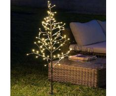 CHRISTMAS PLANET ÁRBOL DECORATIVO CON NIEVE (96 LED)