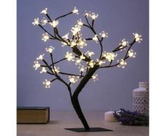 CHRISTMAS PLANET ÁRBOL DECORATIVO CON FLORES (48 LED)