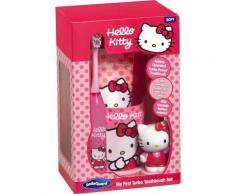 Hello Kitty cepillo dental eléctrico + pasta + vaso