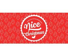"Piccantino Nice Christmas - Vale de Regalo de Papel Reciclado Ecológico - ""Nice Christmas"" Vale"
