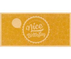 VitalAbo Nice Birthday - Vale de Regalo de Papel Reciclado Ecológico - Nicest Birthday! - Vale para Imprimir