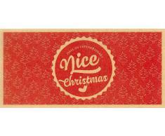 VitalAbo Nice Christmas - Vale de Regalo de Papel Reciclado Ecológico - NiceChristmas! - Vale para Imprimir