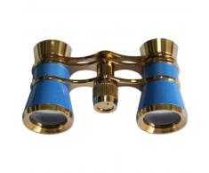 Levenhuk Prismáticos para ópera Broadway 3x25 azul con cadena y luz LED