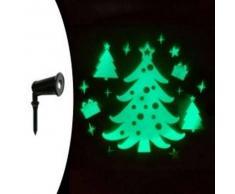 eminza Proyector láser fijo Árbol Verde 1 LED
