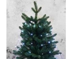 eminza Cortina para árbol Flashing light alto 1,50 cm Blanco frío 210 LED