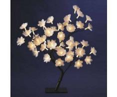 eminza Árbol luminoso para mesa Libra Altura 30 cm Blanco cálido