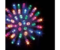 eminza Guirnalda luminosa Tecnobriright 20 m Multicolor 200 LED CT