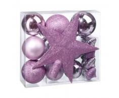 eminza Kit de decoración para abeto de Navidad Vasa Violeta