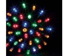 eminza Guirnalda luminosa Tecnobriright 10 m Multicolor 100 LED CV