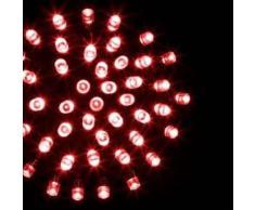 eminza Guirnalda luminosa Tecnobriright 10 m Rojo 100 LED CV