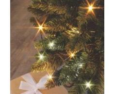 eminza Guirnalda luminosa Bicolor Flashing light 8 m Blanco cálido y blanco frío 128 LED