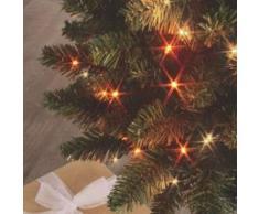 eminza Guirnalda luminosa Bicolor 8 m Blanco cálido y naranja 128 LED