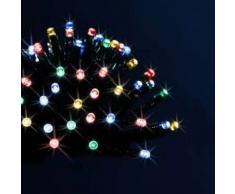 eminza Guirnalda luminosa Technobase 8 m Multicolor 80 LED CV