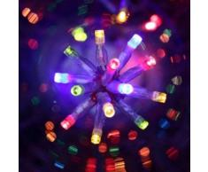 eminza Guirnalda luminosa 12 m Multicolor 200 LED CT