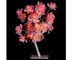 eminza Árbol luminoso para mesa Gloria Altura 45 cm Rosa