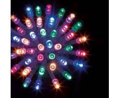 eminza Guirnalda luminosa Tecnobriright 10 m Multicolor 100 LED CT