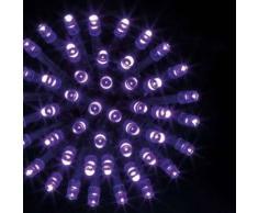 eminza Guirnalda luminosa Tecnobriright 10 m Violeta 100 LED CV