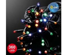 eminza Guirnalda luminosa 100 m Multicolor 1000 LED CN