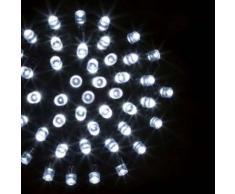 eminza Guirnalda luminosa Tecnobriright 20 m Blanco frío 200 LED CV