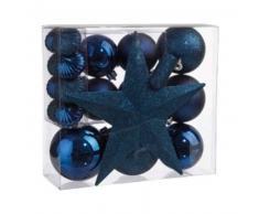 eminza Kit de decoración para abeto de Navidad Vasa Azul rey