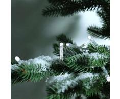 eminza Guirnalda luminosa Durawise 7,10 m Blanco frío 96 LED CT