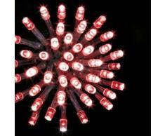 eminza Guirnalda luminosa Tecnobriright 20 m Rojo 200 LED CT