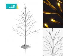 Lesara Árbol decorativo LED (blanco)