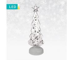 Lesara Decoración LED en forma de árbol de Navidad