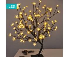 Lesara Árbol LED con flores