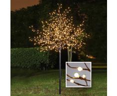 Lesara Árbol LED con luces de bola