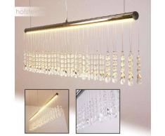 YORK Lámpara colgante LED Cromo, 1 luz - 1000 Lumen - Diseño - Zona interior - 3000 Kelvin - 4 - 8 días laborables .