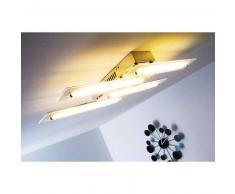 Canyon Lámpara de techo LED Cromo, 4 luces - 720 Lumen - Moderno - Zona interior - 3100 Kelvin - 4 - 8 días laborables .