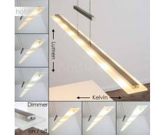 Lámpara Colgante Ramsele LED Níquel-mate, Cromo, 7 luces - 2900 Lumen - Moderno - Zona interior - 2700/3300/4000 Kelvin - 2 - 4 días laborables .