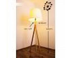 Medellin Lámpara de pie Madera oscura, 1 luz - - Clásico/Rústico - Zona interior - - 3 o 6 días laborables .