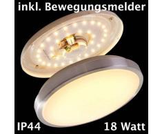 Wutach Lámpara de techo LED Blanca, 1 luz - 1380 Lumen - Moderno/vivienda Juvenil/Básico - Zona interior - 3000 Kelvin - 4 - 8 días laborables .