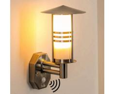 Forli Aplique para exterior Acero inoxidable, 1 luz - - Moderno - Zona exterior - - 4 - 8 días laborables .