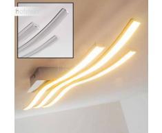 Eglo Roncade Lámpara de techo LED Cromo, 3 luces - 2400 Lumen - Moderno - Zona interior - 3000 Kelvin - 4 - 8 días laborables .