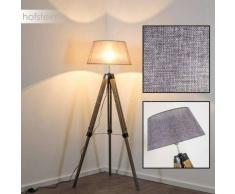 Hornepayne Lámpara de pie Negro, Gris, 1 luz - - Vintage - Zona interior - - 2 - 4 días laborables .
