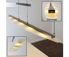 Conmee Lámpara colgante LED Níquel-mate, 5 luces - 2200 Lumen - Moderno - Zona interior - 2700 Kelvin - 2 - 4 días laborables .