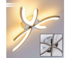 RUTTAN Lámpara de Techo LED Níquel-mate, Cromo, 1 luz - 700 Lumen - Moderno - Zona interior - 3000 Kelvin - 4 - 8 días laborables .