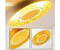 Mala Lámpara de Techo LED dorado, 1 luz - 2400 Lumen - Moderno - Zona interior - 3000 Kelvin - 2 - 3 semanas .