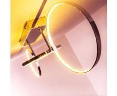 Sepino Lámpara de techo LED Cromo, 1 luz - 1300 Lumen - Diseño/vivienda Juvenil - Zona interior - 3000 Kelvin - 4 - 8 días laborables .