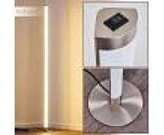 Wila Lámpara de Pie LED Níquel-mate, 1 luz - 1050 Lumen - Moderno - Zona interior - 3000 Kelvin - 3 o 6 días laborables .